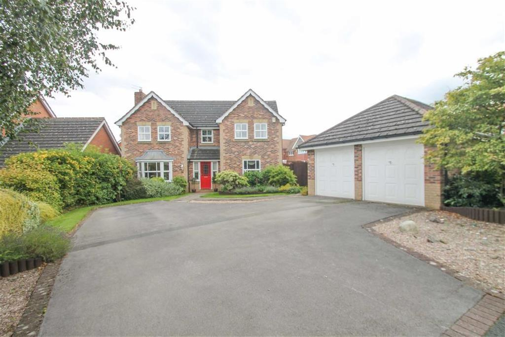 4 Bedrooms Detached House for sale in Woodham Close, Hartford