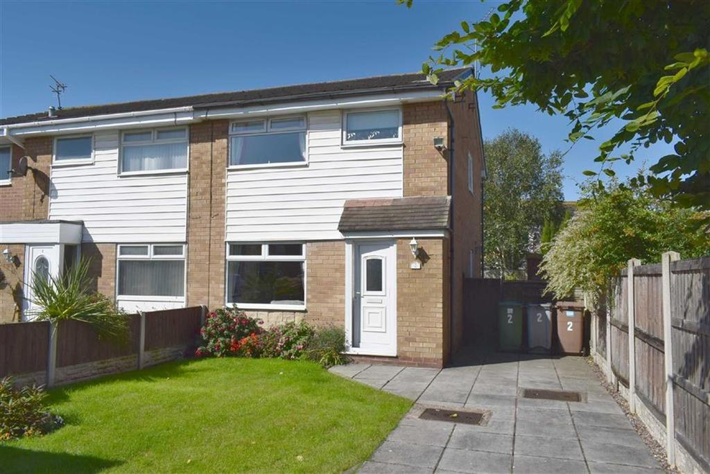 3 Bedrooms Semi Detached House for sale in Millers Close, CH46