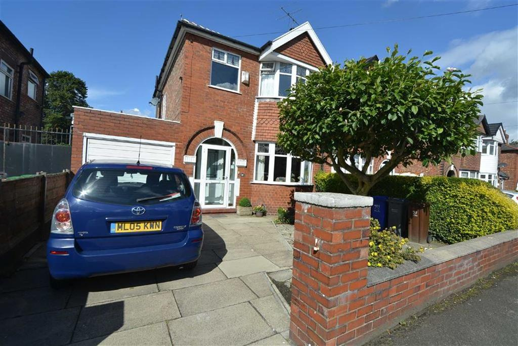 3 Bedrooms Semi Detached House for sale in Alexandra Road South, WHALLEY RANGE, Manchester
