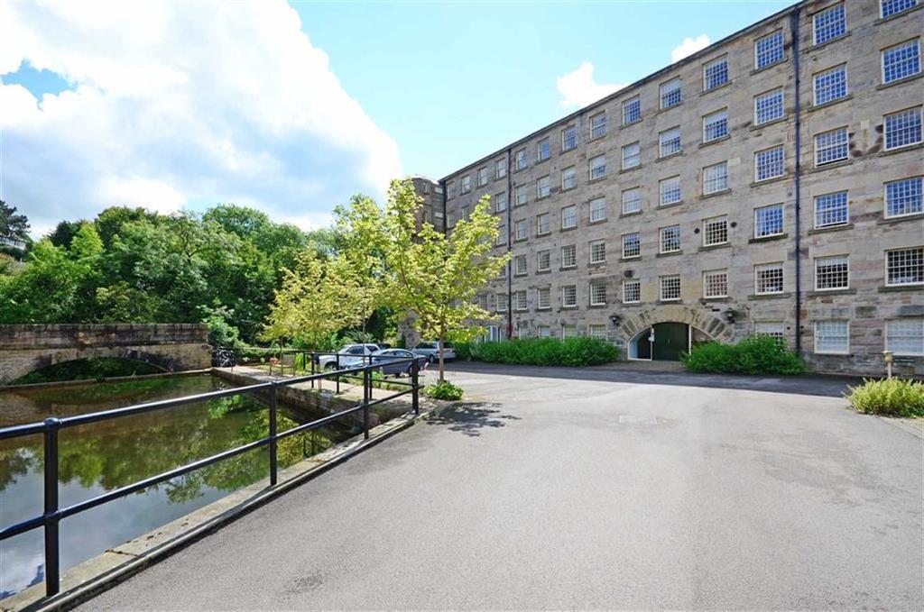 3 Bedrooms Flat for sale in Penthouse Apartment, 23, Calver Mill, Calver, Peak National Park, Derbyshire, S32