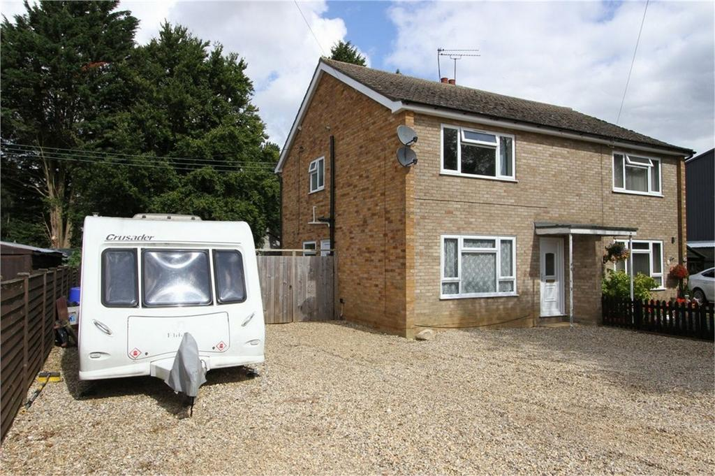 3 Bedrooms Semi Detached House for sale in Crow Hall Farm Houses, The Street, Gooderstone, Norfolk