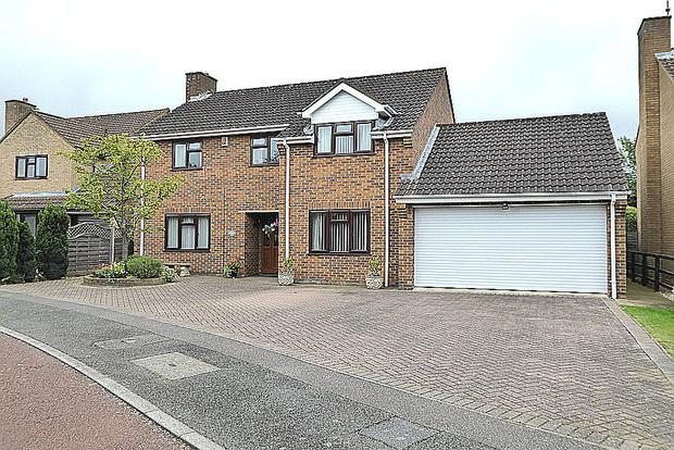 4 Bedrooms Detached House for sale in Sundew Court, West Hunsbury, Northampton, NN4
