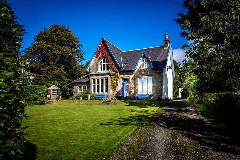 4 Bedrooms Detached House for sale in Glenlea, Shore Road, Kilcreggan, Helensburgh, G84