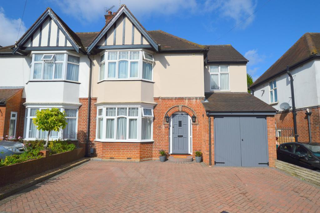 4 Bedrooms Semi Detached House for sale in Wychwood Avenue, Luton, LU2 7HT