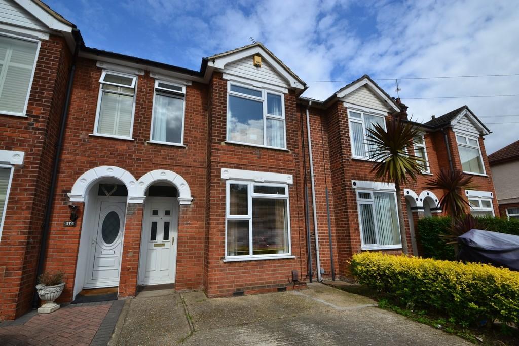 3 Bedrooms Terraced House for sale in Felixstowe Road, Ipswich, IP3 9BZ