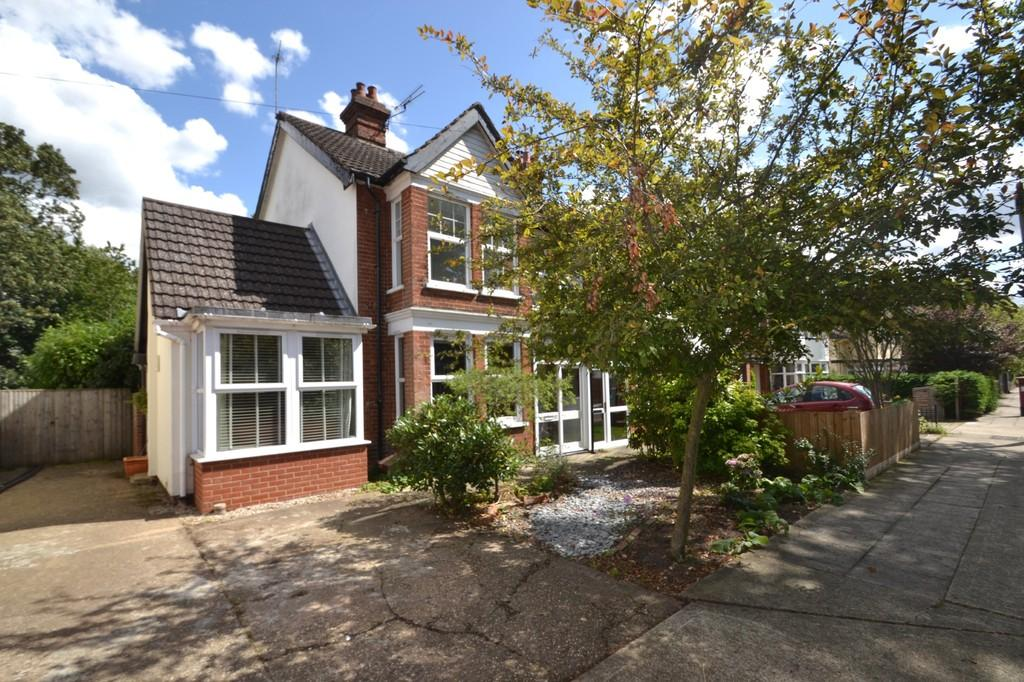 4 Bedrooms Semi Detached House for sale in 82 Corder Road Ipswich