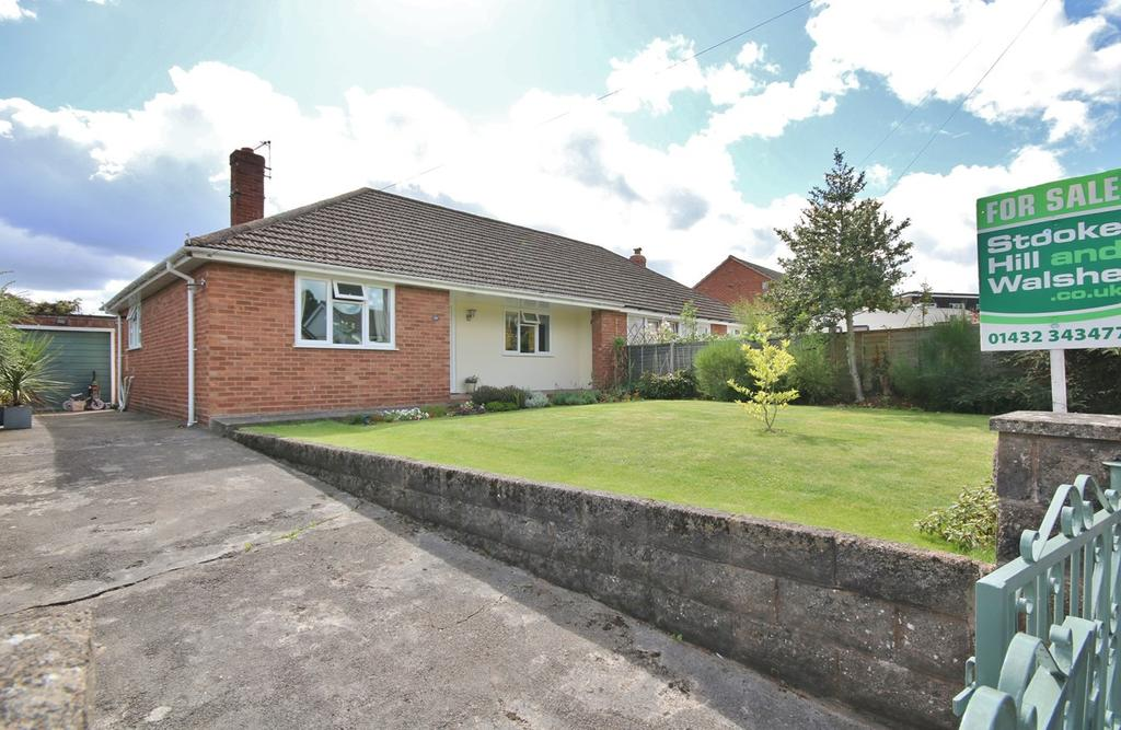 2 Bedrooms Semi Detached Bungalow for sale in Hazel Grove, Hereford, HR2
