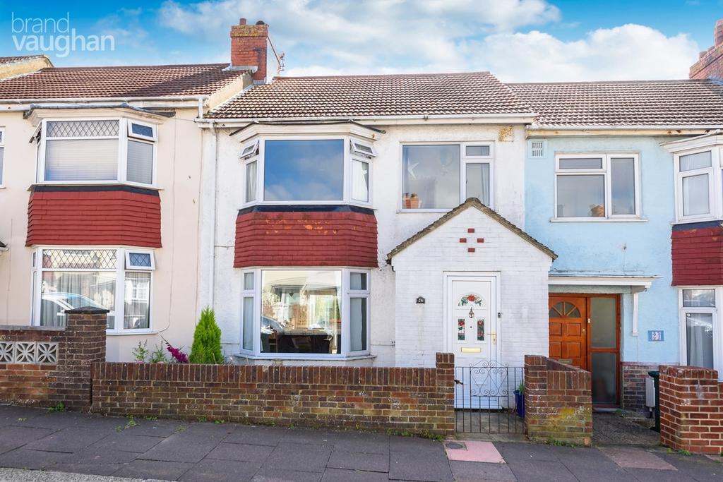 3 Bedrooms Terraced House for sale in Eastbourne Road, Brighton, BN2
