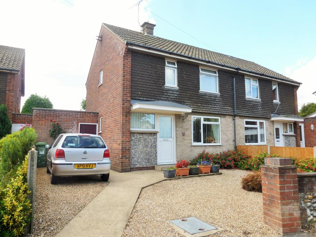2 Bedrooms Semi Detached House for sale in North Walsham