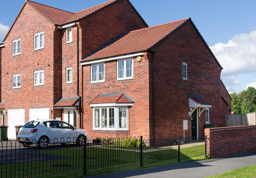 3 Bedrooms End Of Terrace House for sale in Malthouse Mews, Pontefract