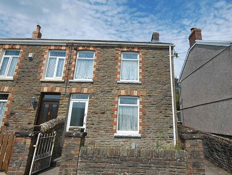 2 Bedrooms Semi Detached House for sale in 2 New Road, Cilfrew, Neath, SA10 8LL