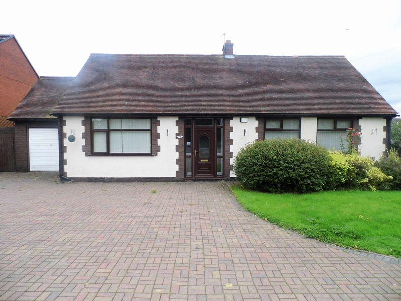 2 Bedrooms Detached Bungalow for sale in Lichfield Road, Pelsall, Walsall