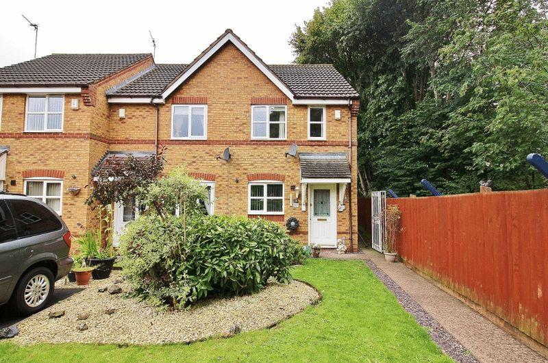 2 Bedrooms Semi Detached House for sale in Teal Grove, Wednesbury