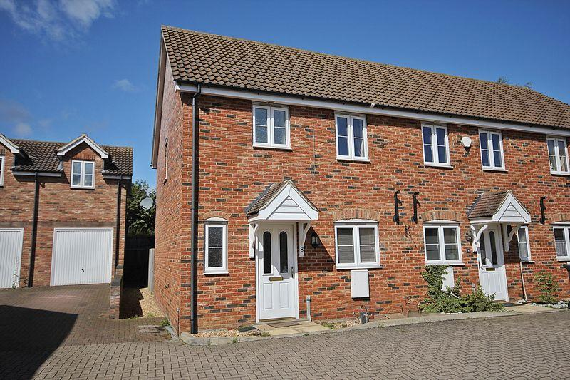 3 Bedrooms End Of Terrace House for sale in Princess Close, Flitwick