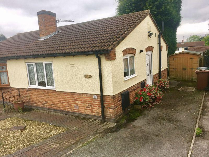 1 Bedroom Semi Detached Bungalow for sale in Amberwood, Swadlincote
