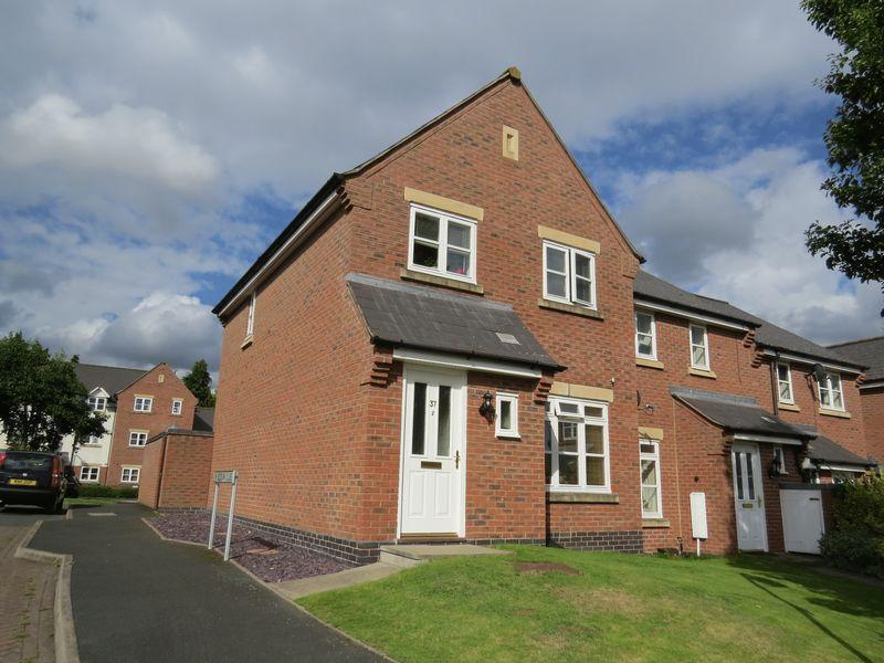 3 Bedrooms Semi Detached House for sale in Beddow Close, St Michaels Gate, Shrewsbury, SY1 2NX