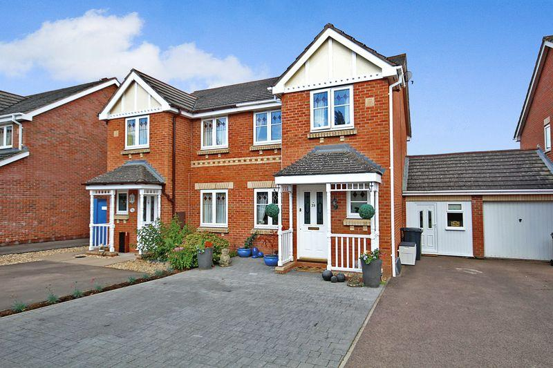 3 Bedrooms Semi Detached House for sale in Credenhill, Hereford