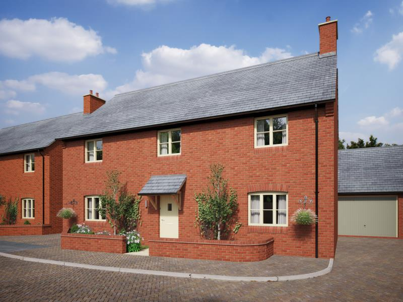 4 Bedrooms Detached House for sale in Plot 14, The Meadows, Old Stratford, Milton Keynes, Northamptonshire