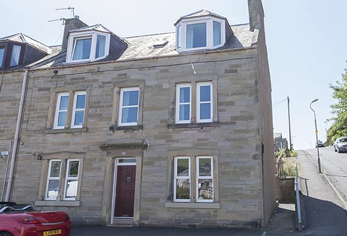 2 Bedrooms Semi Detached House for sale in 77 Meigle Street, Galashiels, TD1 1LN