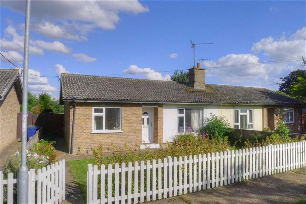 2 Bedrooms Semi Detached Bungalow for sale in Hereward, Earith, Huntingdon, Cambridgeshire