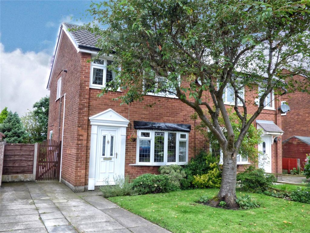3 Bedrooms Semi Detached House for sale in Bealcroft Close, Milnrow, Rochdale, OL16