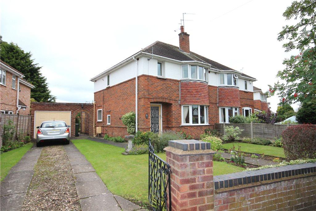 3 Bedrooms Semi Detached House for sale in Woodstock Road, Worcester, Worcestershire, WR2
