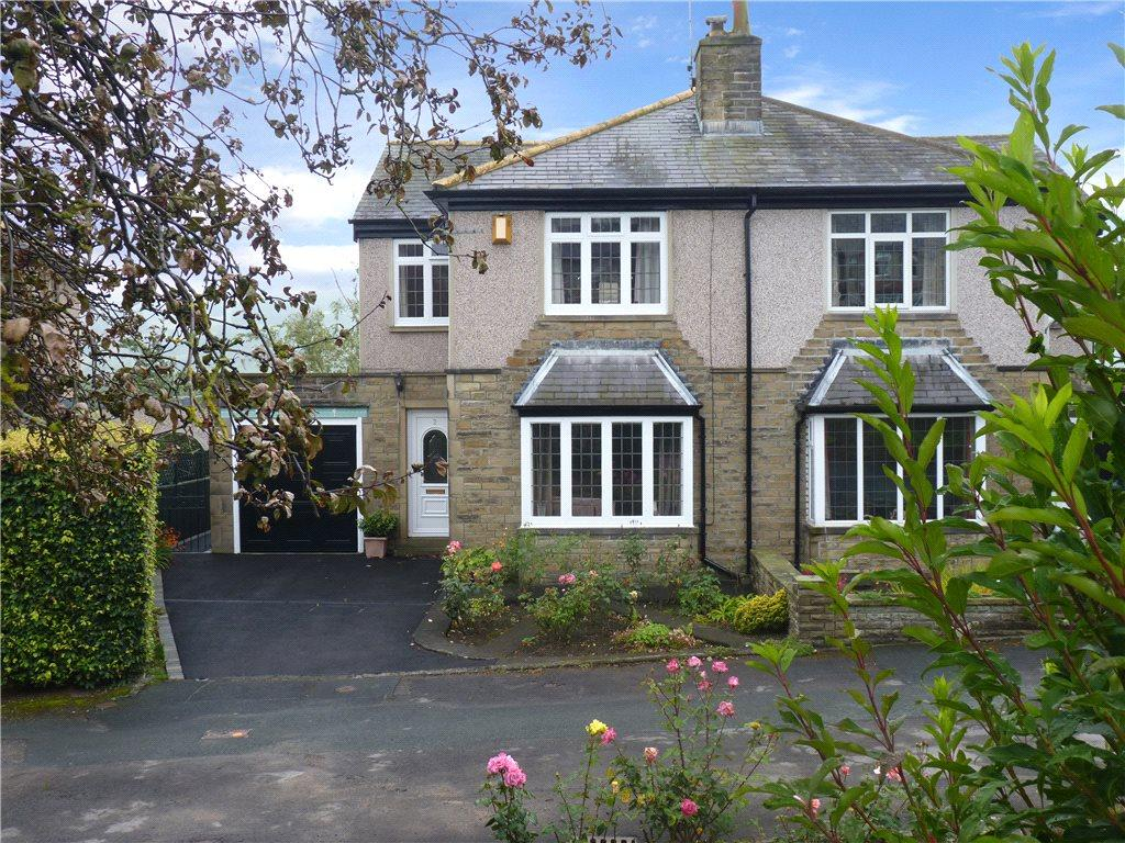 3 Bedrooms Semi Detached House for sale in Kingsway, Riddlesden, Keighley, West Yorkshire