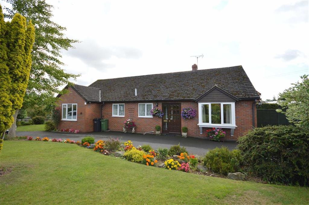 3 Bedrooms Detached Bungalow for sale in 7, Burgage Close, Lyonshall, Kington, Herefordshire, HR5