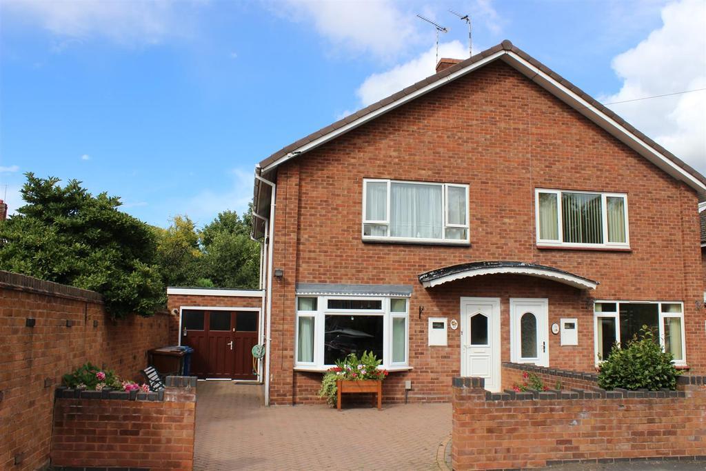 3 Bedrooms Semi Detached House for sale in Albert Road, Fazeley, Tamworth