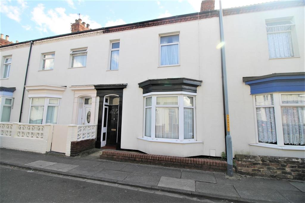 4 Bedrooms Terraced House for sale in Park Road, Stockton-On-Tees