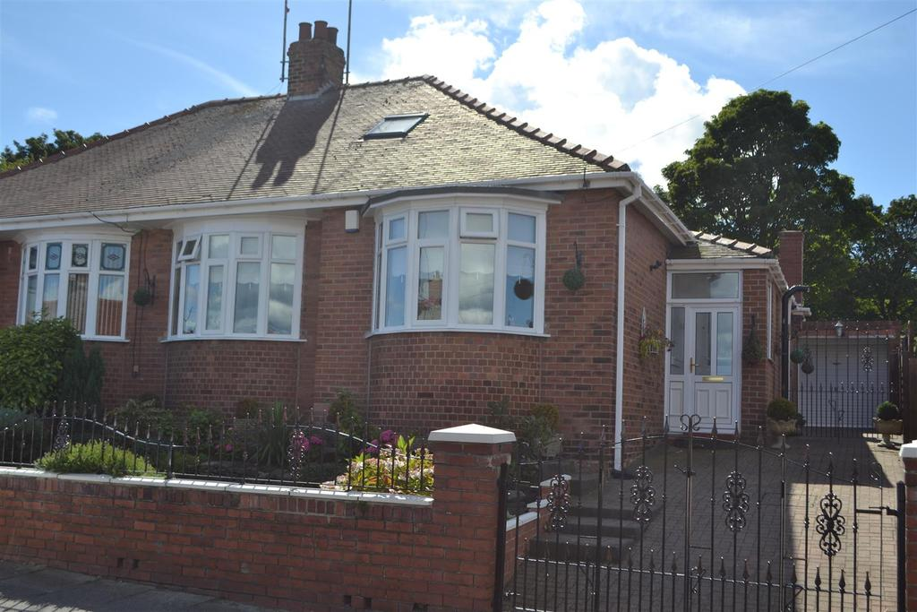 2 Bedrooms Semi Detached Bungalow for sale in Priory Grove, St Gabriels, Sunderland