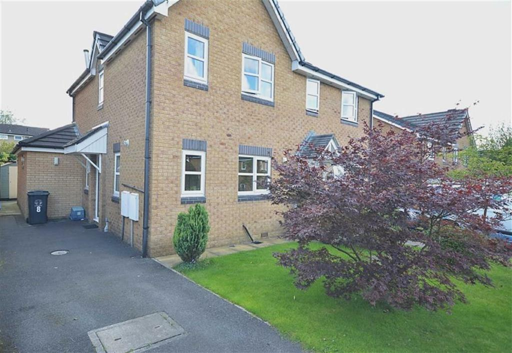 2 Bedrooms Semi Detached House for sale in Heys Court, Oswaldtwistle, Lancashire, BB5