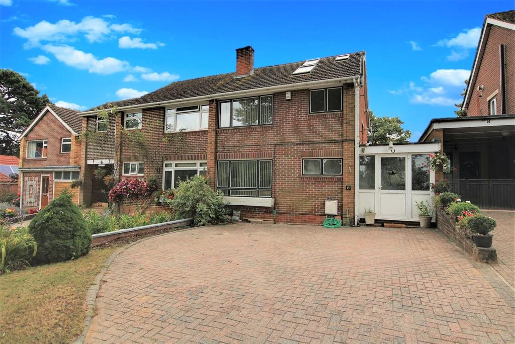 5 Bedrooms Semi Detached House for sale in Bassett, Southampton