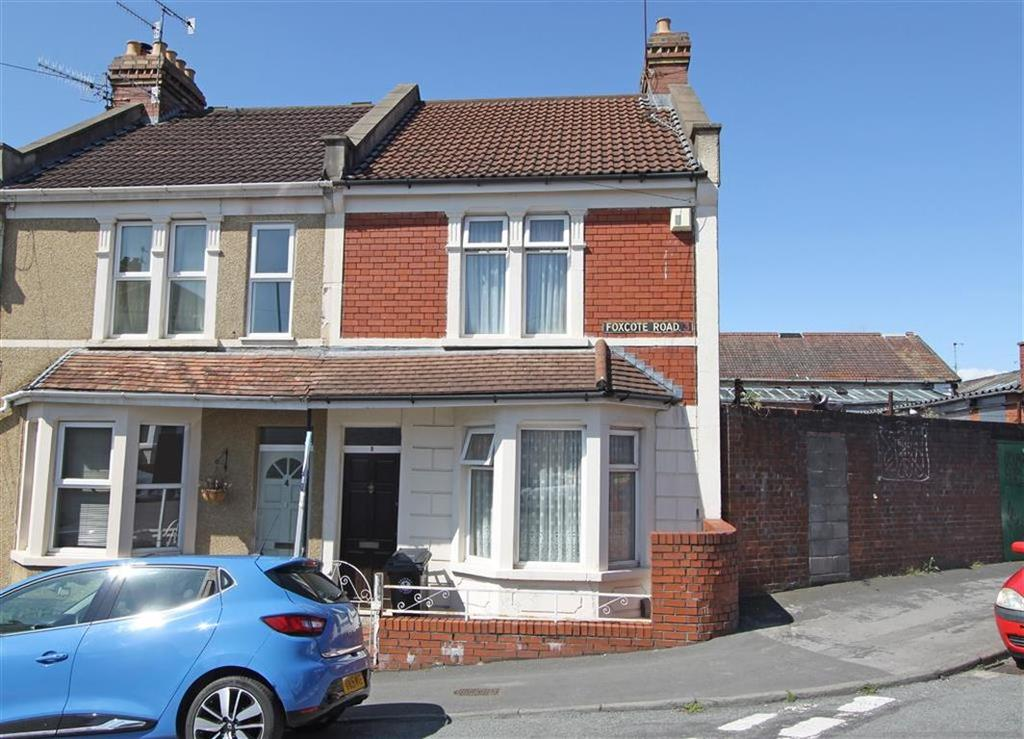 2 Bedrooms End Of Terrace House for sale in Foxcote Road, Ashton, Bristol