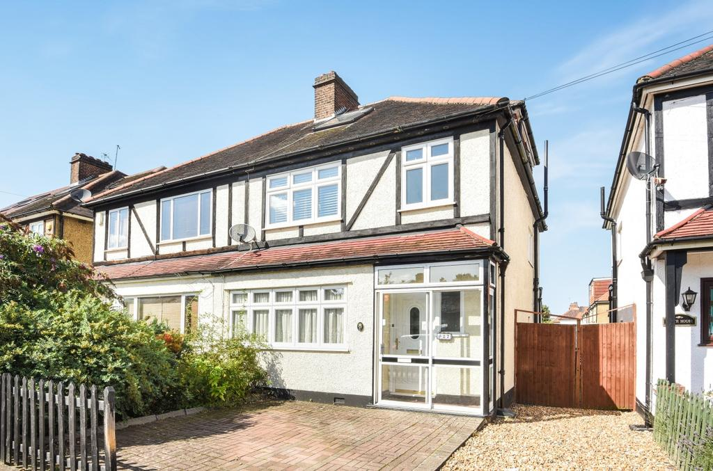 4 Bedrooms Semi Detached House for sale in Jackson Road Bromley BR2