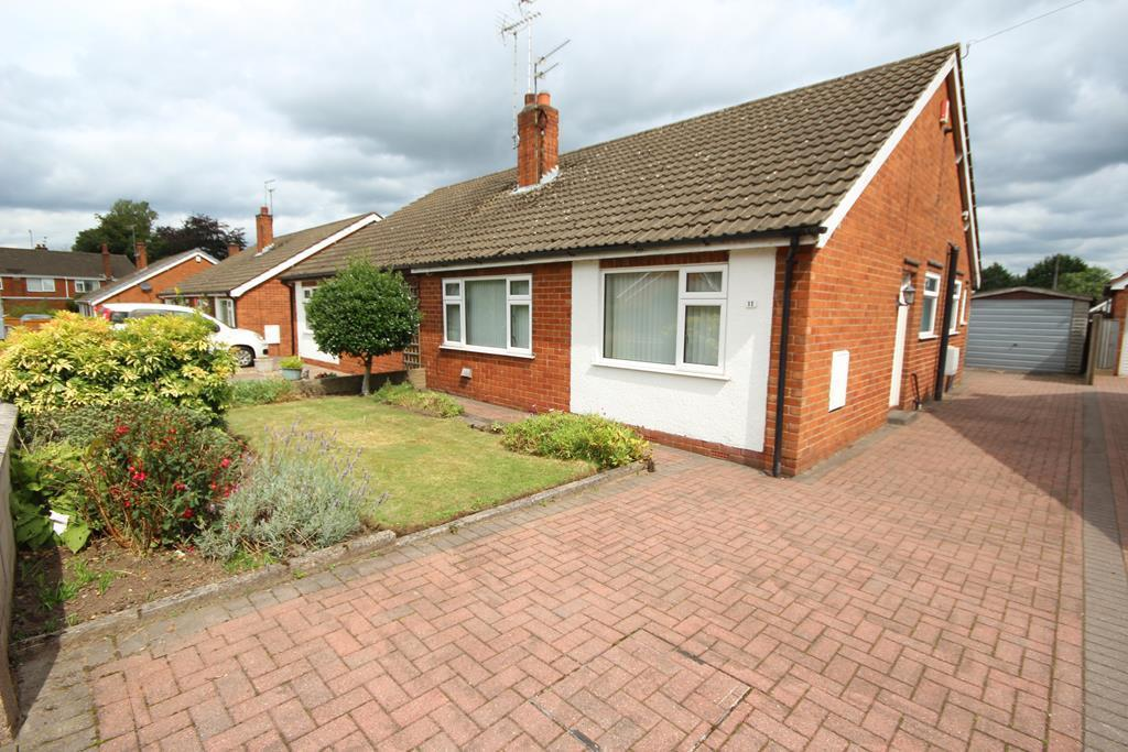 2 Bedrooms Semi Detached Bungalow for sale in Roseacre Lane, Blythe Bridge