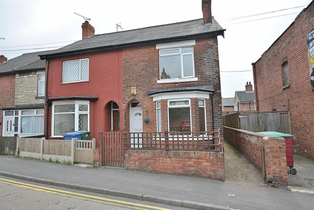 2 Bedrooms End Of Terrace House for sale in Carter Lane, Mansfield