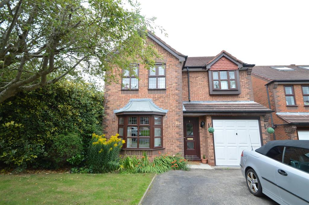 4 Bedrooms Detached House for sale in 2 Salendine, Herongate, Shrewsbury, SY1 3XJ