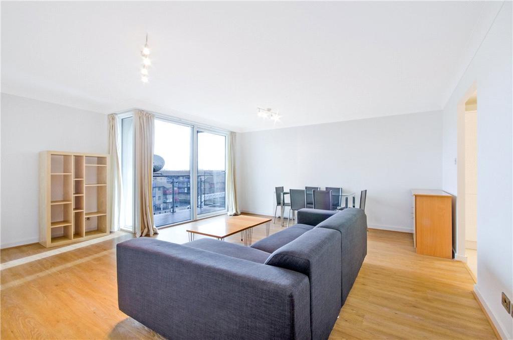 2 Bedrooms Flat for sale in Boardwalk Place, Blackwall, London, E14
