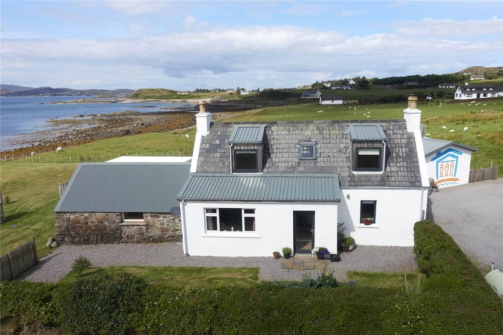 3 Bedrooms Detached House for sale in Isle Of Ewe Smokehouse, 12 Ormiscaig, Aultbea, Achnasheen, IV22