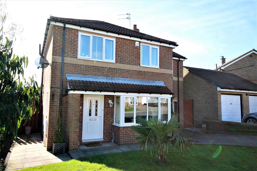 4 Bedrooms Detached House for sale in Ramsay Drive, Ferryhill