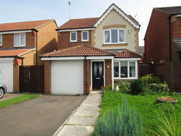 3 Bedrooms Detached House for sale in CHESTNUT WAY, SEAHAM, SEAHAM DISTRICT