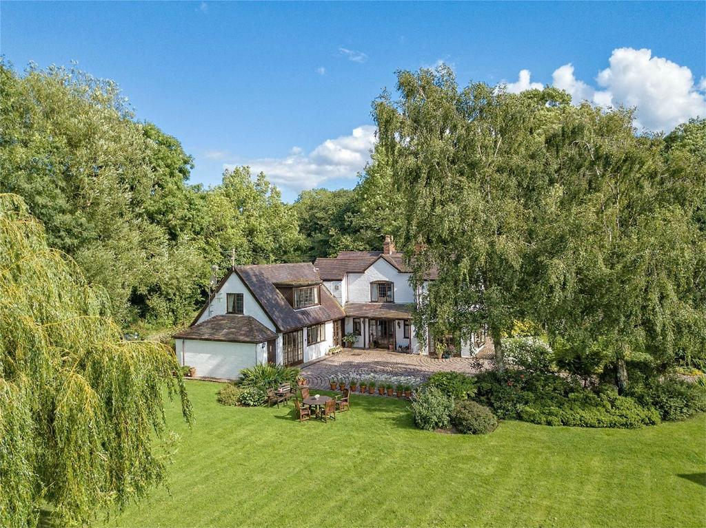 4 Bedrooms Country House Character Property for sale in The Pheasantry, Coton, Bridgnorth, Shropshire