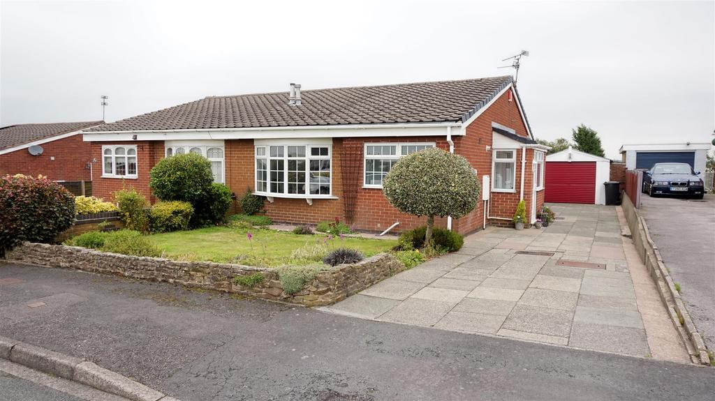 2 Bedrooms Semi Detached Bungalow for sale in Milton Crescent, Talke, Stoke-On-Trent