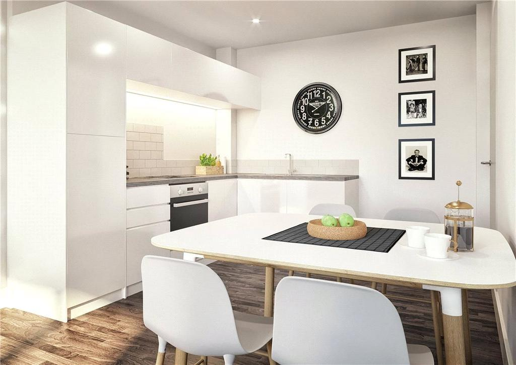 2 Bedrooms Flat for sale in The Fitzgerald, West Bar, Sheffield City Centre, Sheffield, S3