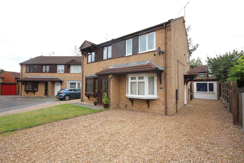 2 Bedrooms Semi Detached House for sale in Hibaldstow Road, Lincoln, LN6