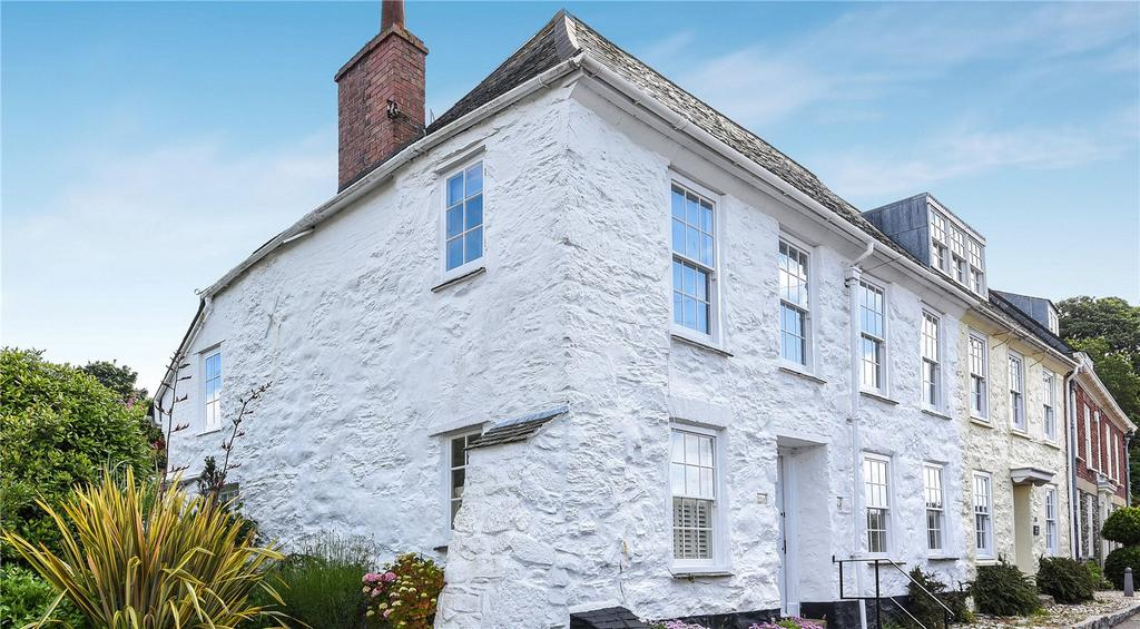 3 Bedrooms End Of Terrace House for sale in Trefusis Road, Flushing, Falmouth, Cornwall, TR11