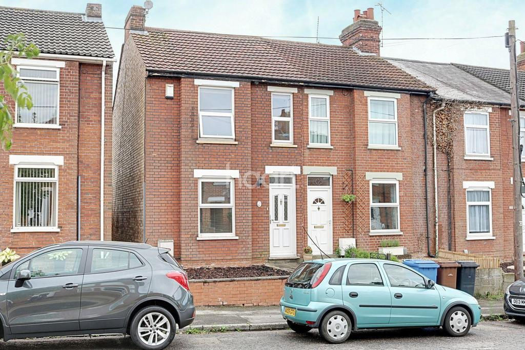 2 Bedrooms End Of Terrace House for sale in Henniker Road, Ipswich