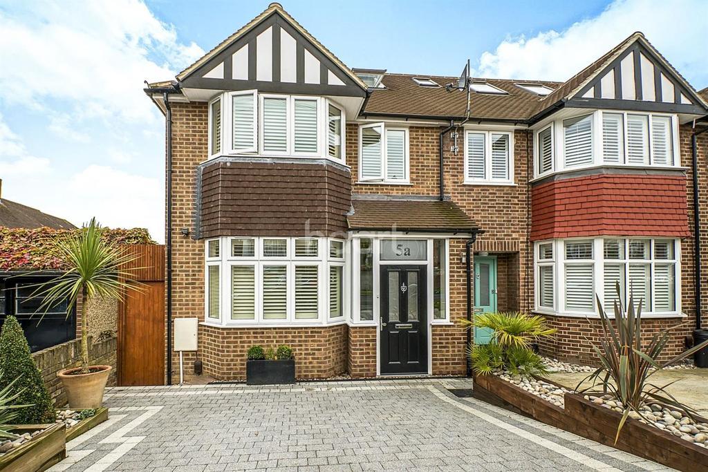 2 Bedrooms End Of Terrace House for sale in Dunster Avenue, Morden, Surrey, SM4