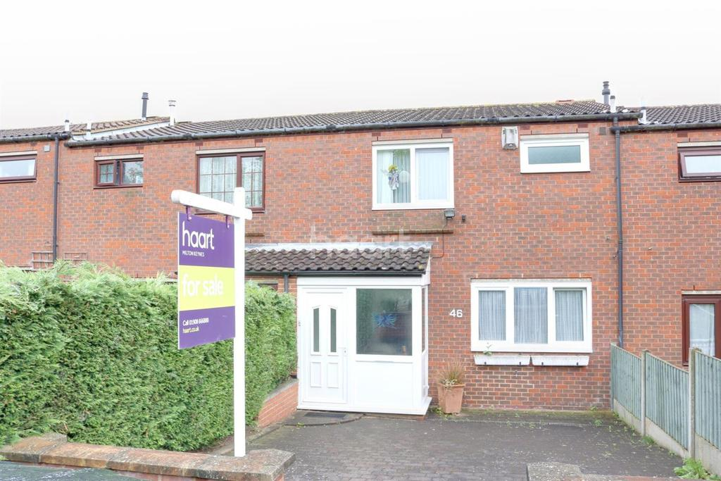 3 Bedrooms Terraced House for sale in Springfield, Milton Keynes